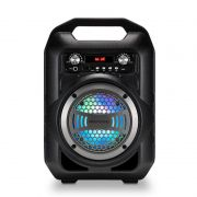 Caixa De Som Portátil Multilaser SP256 Bluetooth MP3 Player Rádio FM Com Bateria
