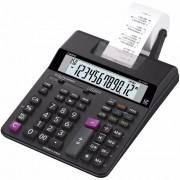 Calculadora Casio HR-100RC Preta Com Bobina para Impressão em 2 Cores Bivolt Reimpressão Segunda Via