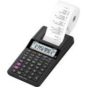 Calculadora Casio HR-8RC Preta Portátil com Bobina para Impressão