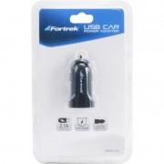 Carregador de Bateria USB Fortrek MPS101 Veicular 12V / 5V 2.1A para Celular Acendedor de Cigarro