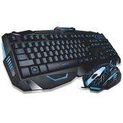 Combo Teclado e Mouse Gamer Multilaser TC195 Lightning
