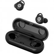 Fone de Ouvido Bluetooth Bright Blacksound 0514 Preto Sem fio com Microfone e Estojo para Recarga