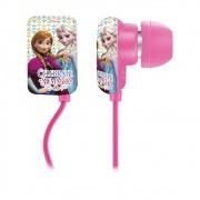 Fone de Ouvido Infantil Disney Frozen Elsa Anna PH125 Rosa para Criança Universal p/ Tablet Celular