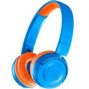 Fone de Ouvido Infantil JBL JR300BT Bluetooth Azul com Limitador de Volume 85dB