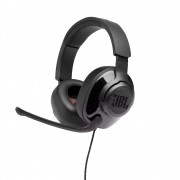 Fone de Ouvido JBL Quantum 300 Surround Gamer Headset Headphone P3 + Adaptador USB JBLQUANTUM300BLK