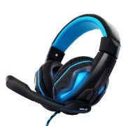 Headset Gamer Bright 0467 Fone de Ouvido com Microfone para PC 2 Plugues 3,5mm