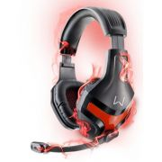 Headset Gamer Warrior Harve Multilaser PH101 Fone de Ouvido com Microfone