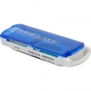 Leitor de Cartão de Memória USB 2.0 Fortrek LDC102 SD Micro SD TF MMC SDHC SDXC M2 MS PRO DUO
