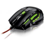 Mouse Óptico X Gamer Multilaser Fire Button USB 2400Dpi - MO208