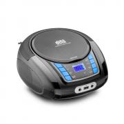 Rádio Toca CD Multilaser SP338 Bluetooth Leitor de CD Rádio FM Entrada para Pendrive USB AUX P2 Fone