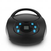 Rádio Toca CD Multilaser SP345 Bluetooth Leitor de CD Rádio FM Entrada USB para Pen Drive Auxiliar