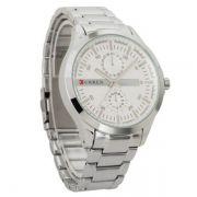 Relógio Masculino Curren 8128 Aço Inoxidável