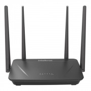 Roteador Intelbras AC1200 ACtion RF1200 Wireless Dual Band 867Mbps 5Ghz 300 Mbps 2.4Ghz 4 Antenas