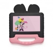 Tablet Infantil Multilaser NB340 com Capa Disney Minnie Wi-Fi Bluetooth para Criança Youtube Netflix