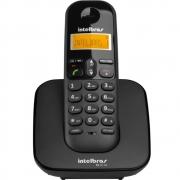 Telefone Sem Fio Intelbras TS3110 Preto Digital Com Identificador de Chamadas e Visor Iluminado