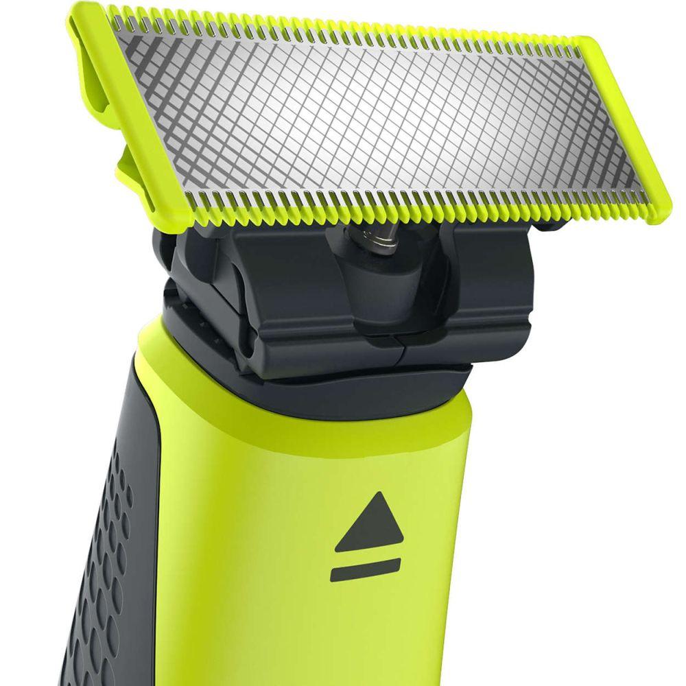 Barbeador Elétrico Philips One Blade QP2510/10 Aparador de Barba Bivolt Com Bateria Recarregável