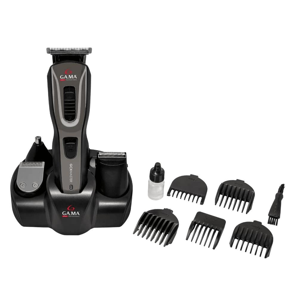 Aparador Gama GCX Master Multi Styler Máquina de Cortar Cabelo Barba Pelos Sem Fio Recarregável