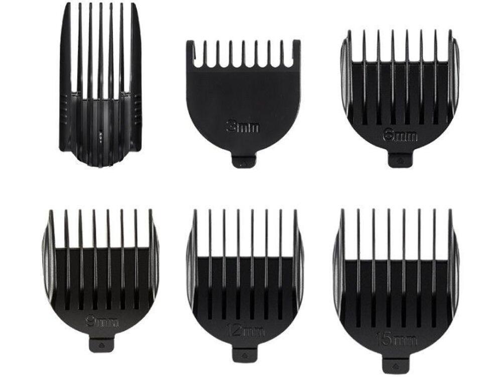 Aparador Mondial BG-05 SuperGroom-11 Sem Fio Máquina de Cortar Cabelo Barba Pelos do Nariz Barbeador