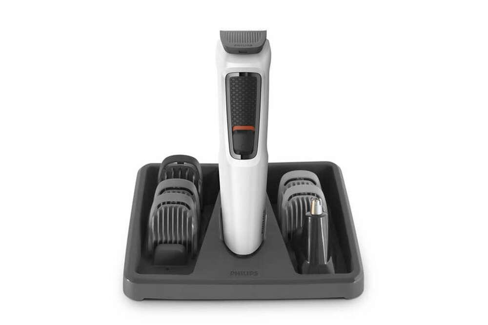 Aparador Philips MG3721 Multigroom 7 em 1 Sem Fio Máquina de Cortar Cabelo Barba e Pelos MG3721/77