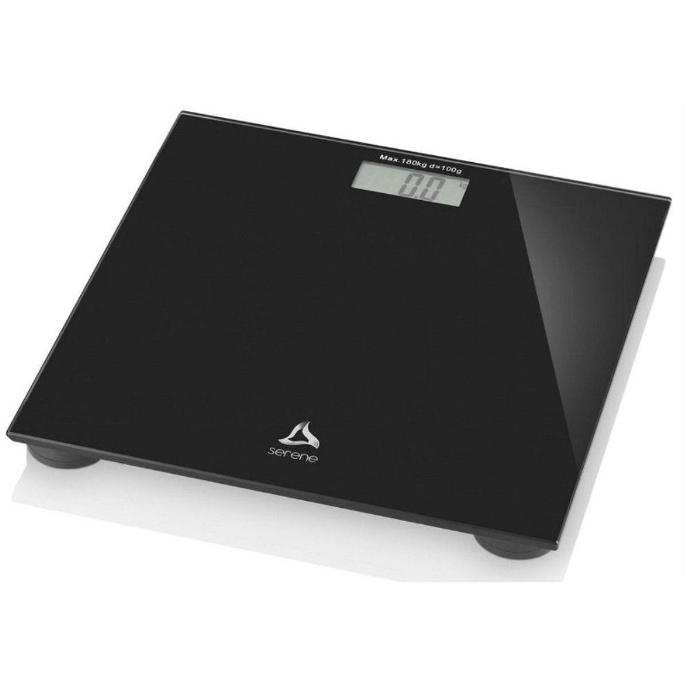 Balança de Banheiro Digital Multilaser HC022 Digi-Health Preta