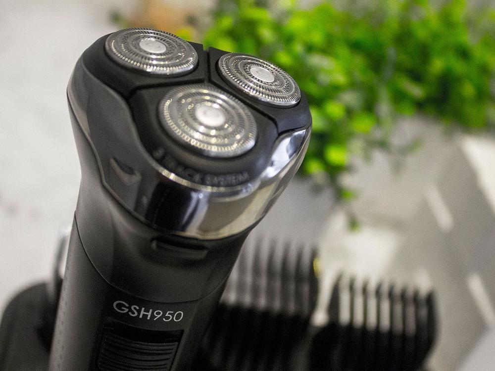Barbeador Gama GSH950 Seco Molhado Aparador de Barba Trimmer Sem Fio À Prova D'água Ga.Ma Italy