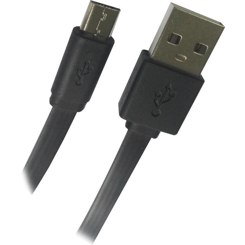 Cabo USB x Micro USB Fortrek UMI101 1,2m Recarga e Dados para Celular Smartphone Tablet