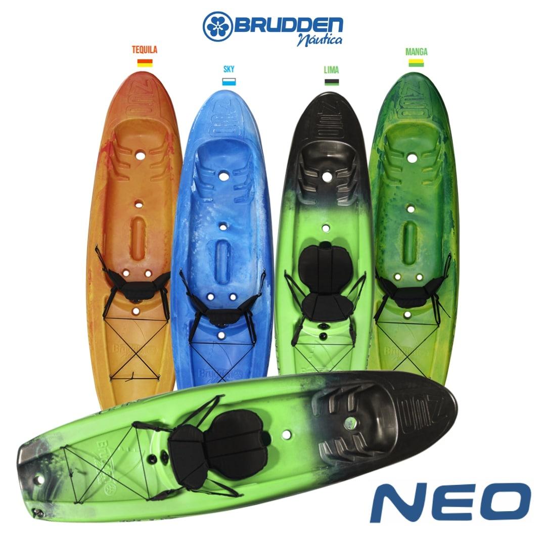 Caiaque Brudden Náutica Neo Touring Para Turismo Capacidade de Carga 120 kg