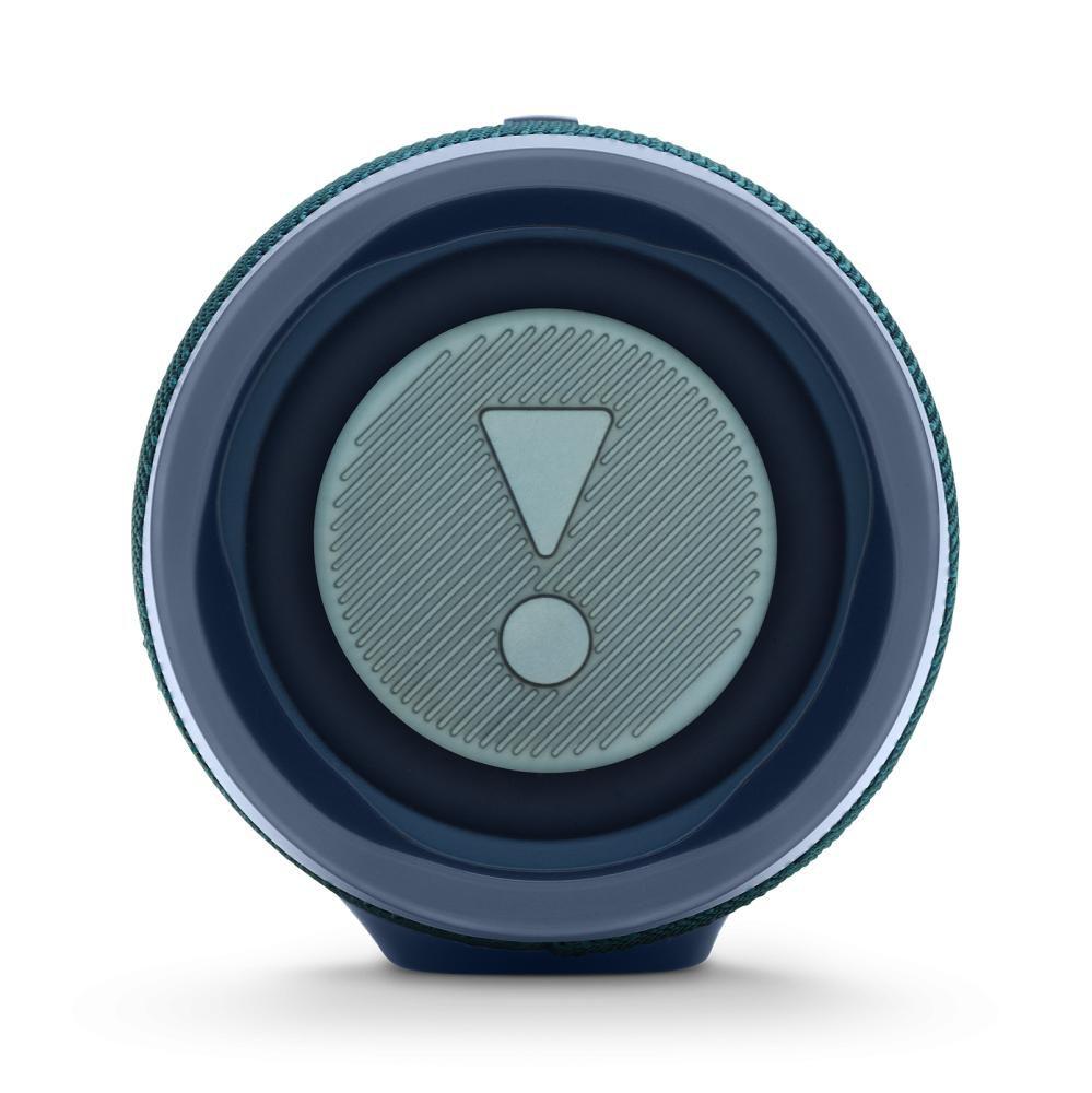 Caixa de som Bluetooth JBL Charge 4 Azul a prova d'água 20 horas de reprodução