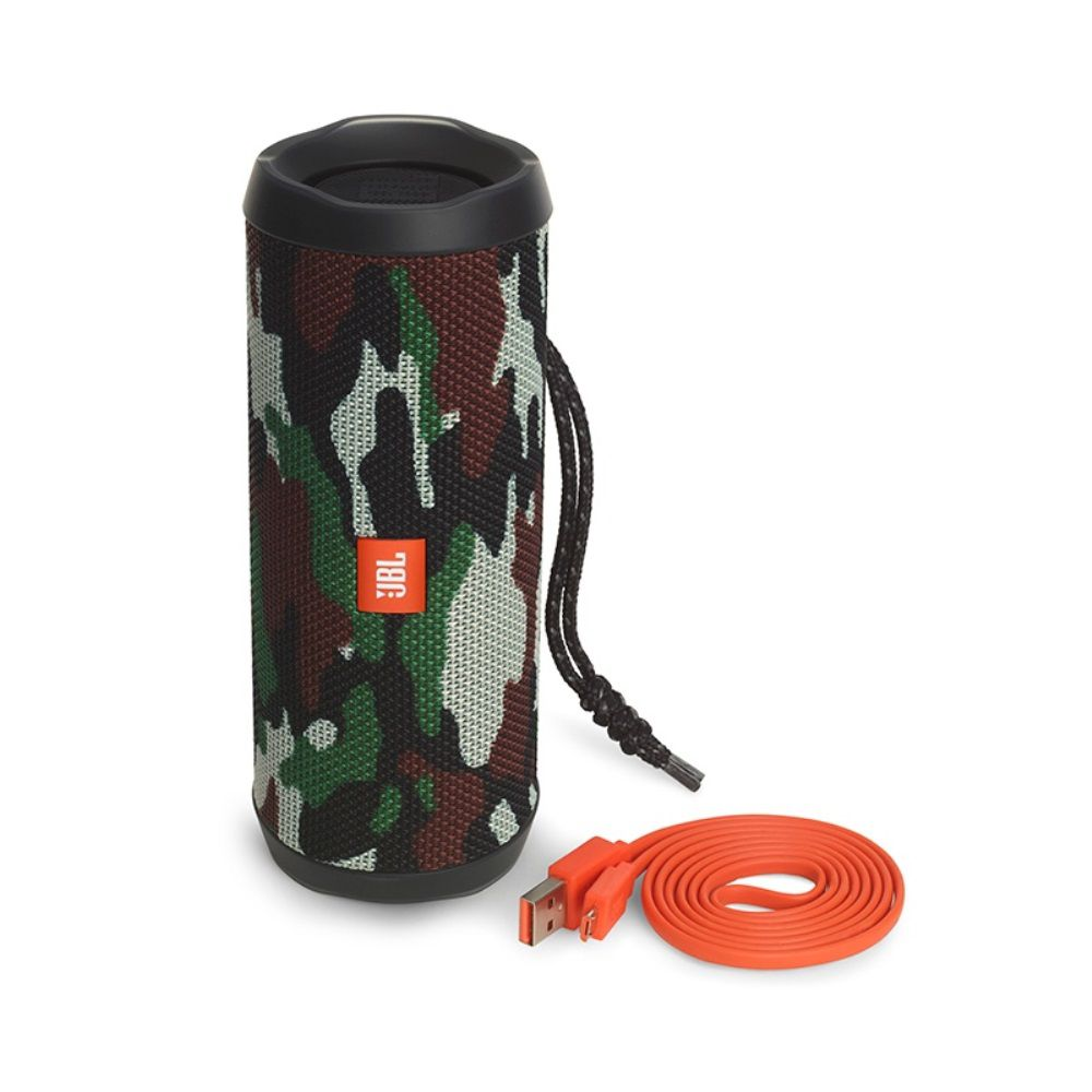 Caixa de Som Bluetooth JBL FLIP 4 Camuflada à Prova D'água