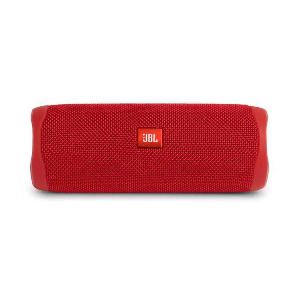 Caixa de Som Bluetooth JBL Flip 5 Vermelha Red 20W Partyboost Connect+ Speaker à Prova D'água IPX7