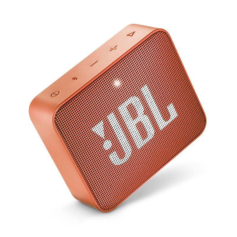 Caixa de Som Bluetooth JBL GO 2 Laranja Orange à Prova D'água