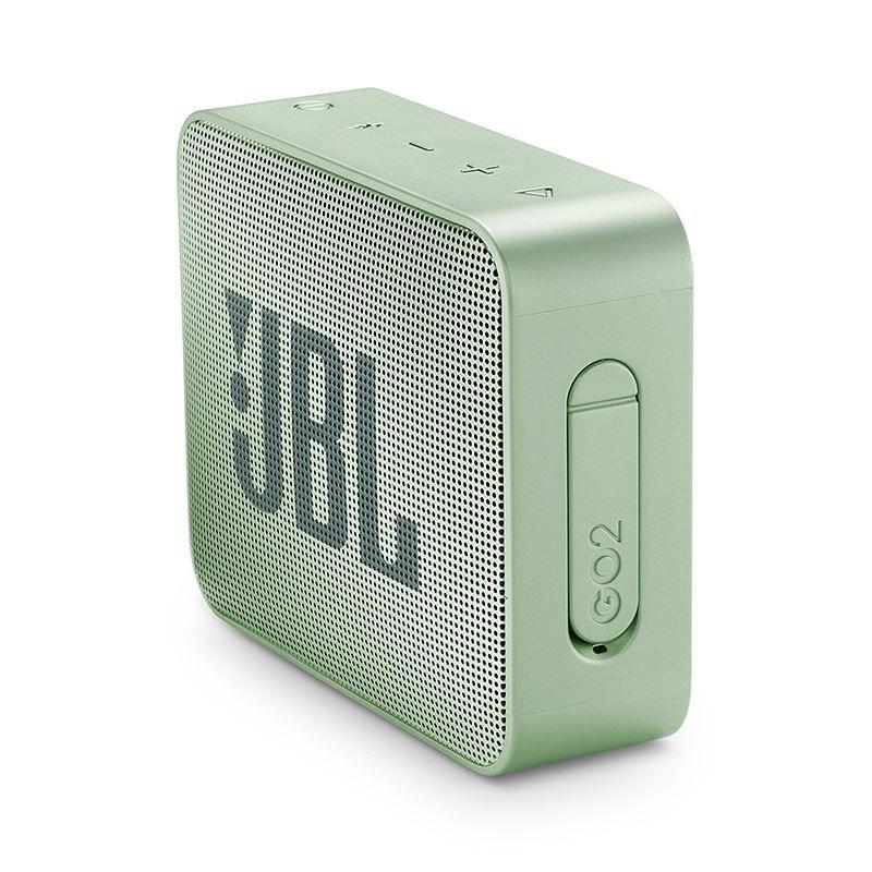Caixa de Som Bluetooth JBL GO 2 Mint Verde Menta à Prova D'água