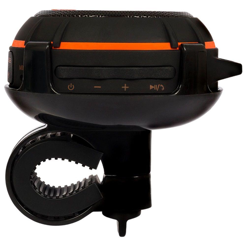 Caixa de Som Bluetooth JBL Wind Portátil com Adaptador para Bike ou Moto