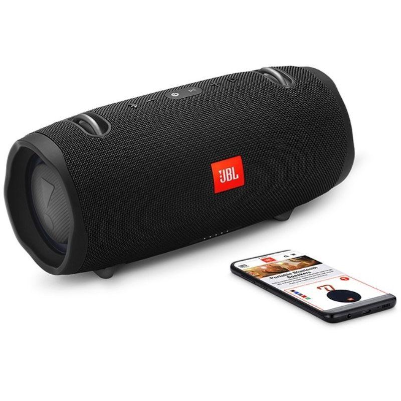 Caixa de Som Bluetooth JBL Xtreme 2 Black Preta 40 Watts RMS À Prova D'água com Bateria 15 horas