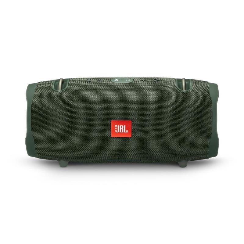 Caixa de Som Bluetooth JBL Xtreme 2 Green Verde 40 Watts RMS À Prova D'água com Bateria 15 horas