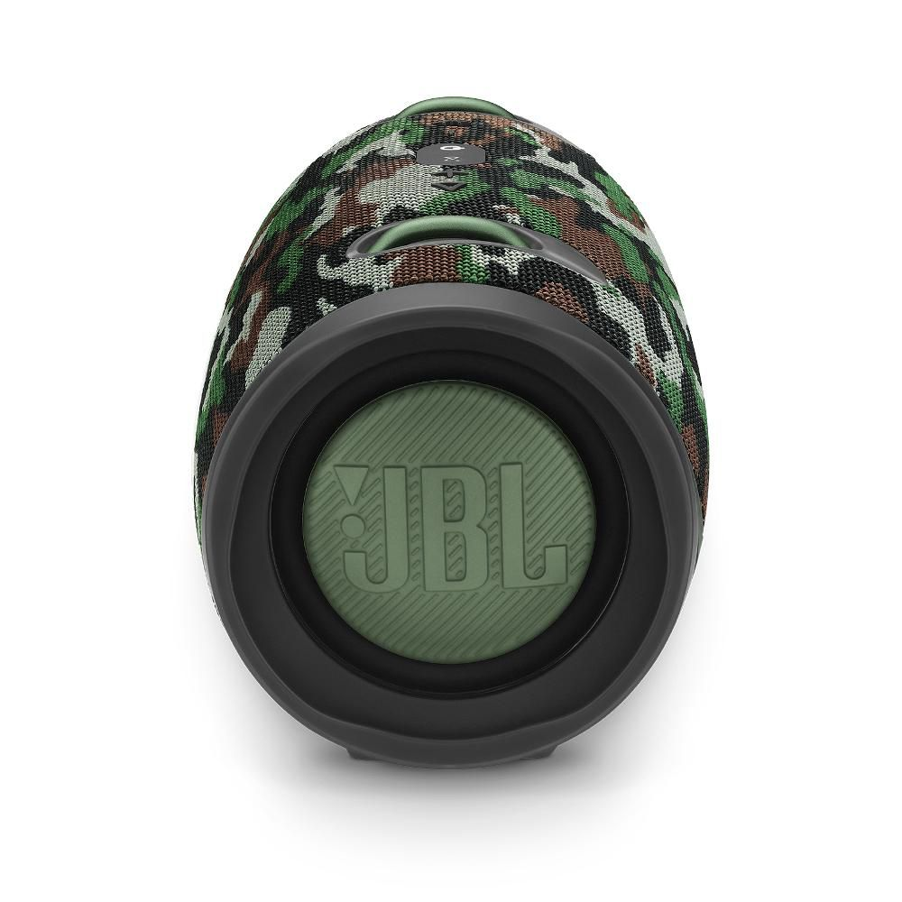 Caixa de Som Bluetooth JBL Xtreme 2 SQUAD Camuflada 40 Watts RMS À Prova D'água com Bateria 15 horas