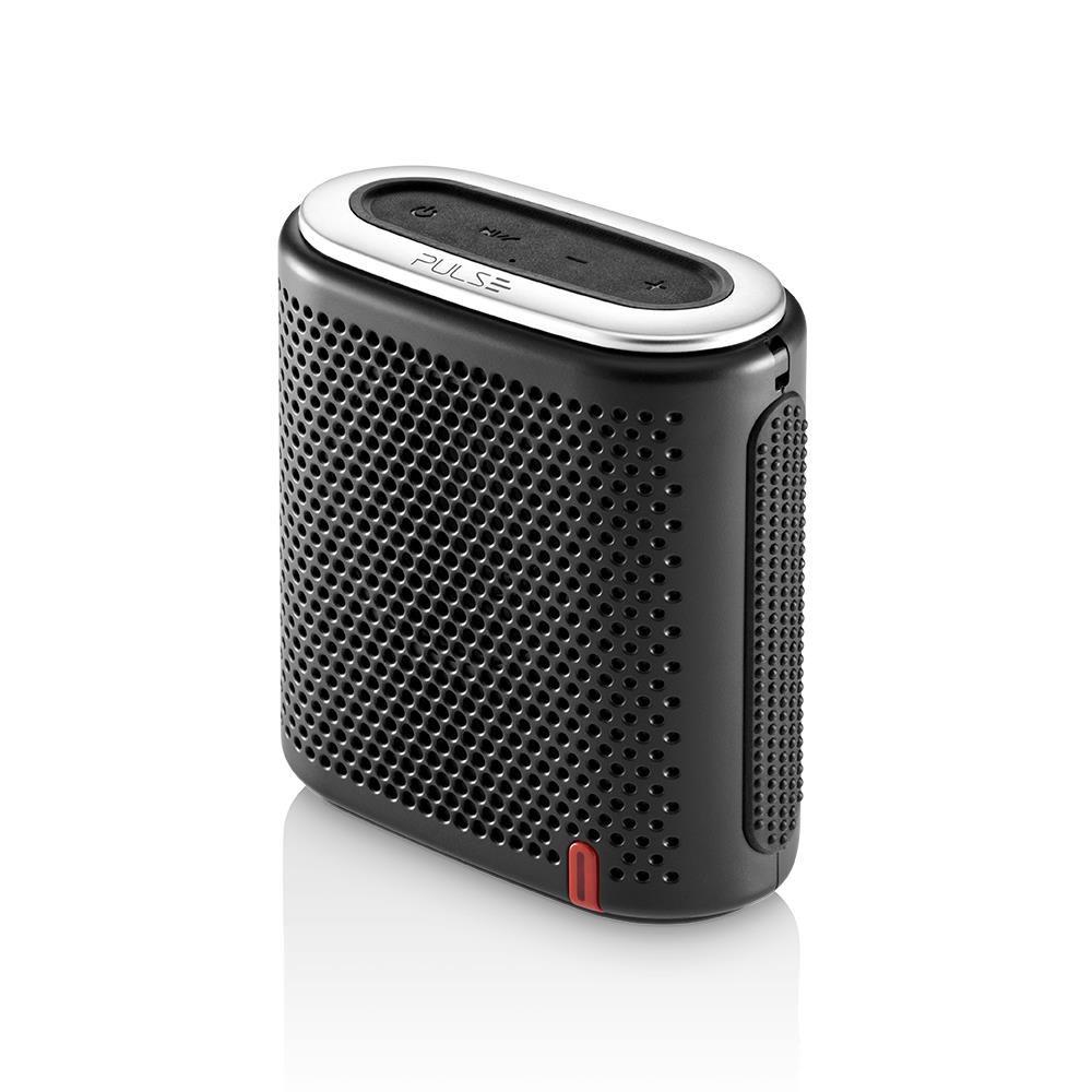Caixa de Som Bluetooth Pulse Mini SP236 Preto 10W RMS com MP3 Player e Entrada para Cartão