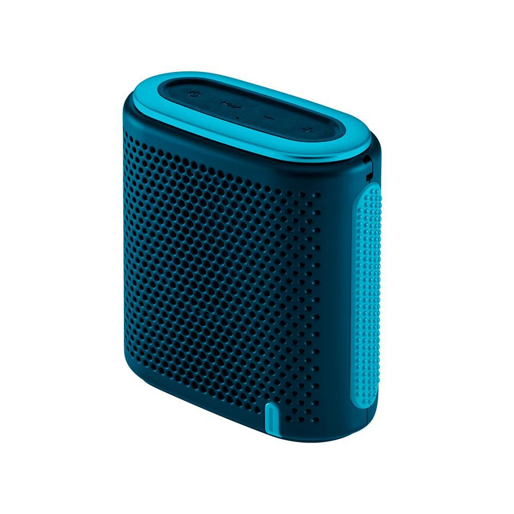 Caixa de Som Bluetooth Pulse Mini SP237 Azul 10W RMS com MP3 Player e Entrada para Cartão