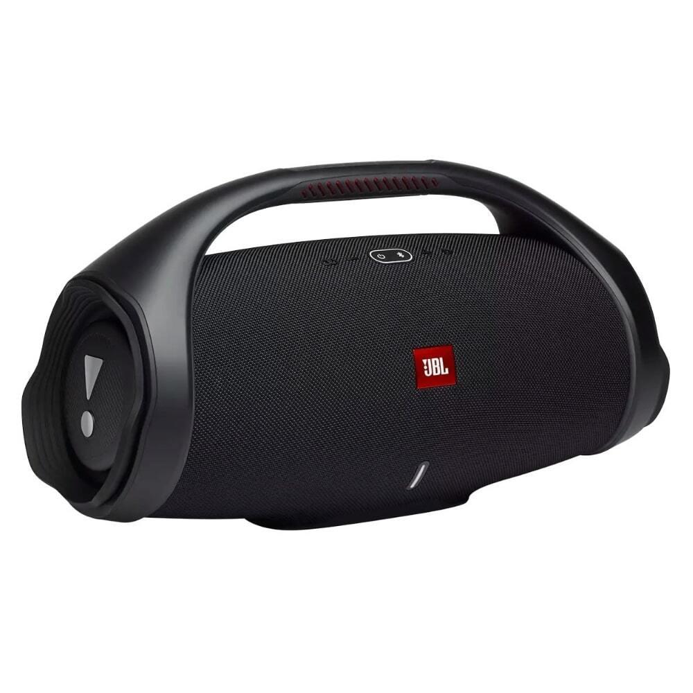 Caixa de Som JBL Boombox 2 Original Preta Bluetooth 5.1 À Prova D'água IPX7 Portátil Bateria 24hrs