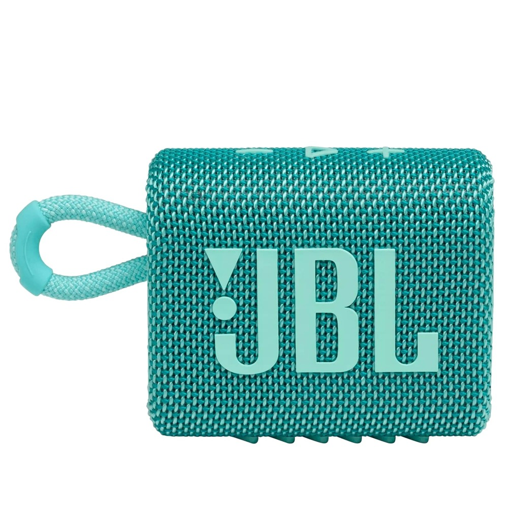 Caixa de Som JBL GO 3 Verde Teal Bluetooth Pro Sound Original À Prova D'água Poeira IP67 JBLGO3TEAL