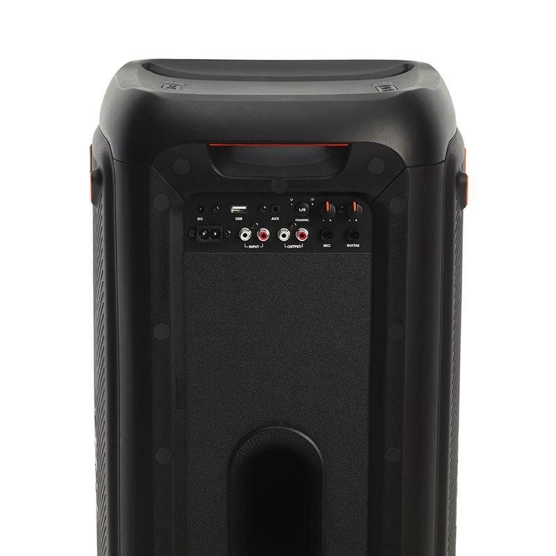 Caixa de Som JBL Party Box 200 Bluetooth Entrada para Pendrive USB Microfone Violão Guitarra