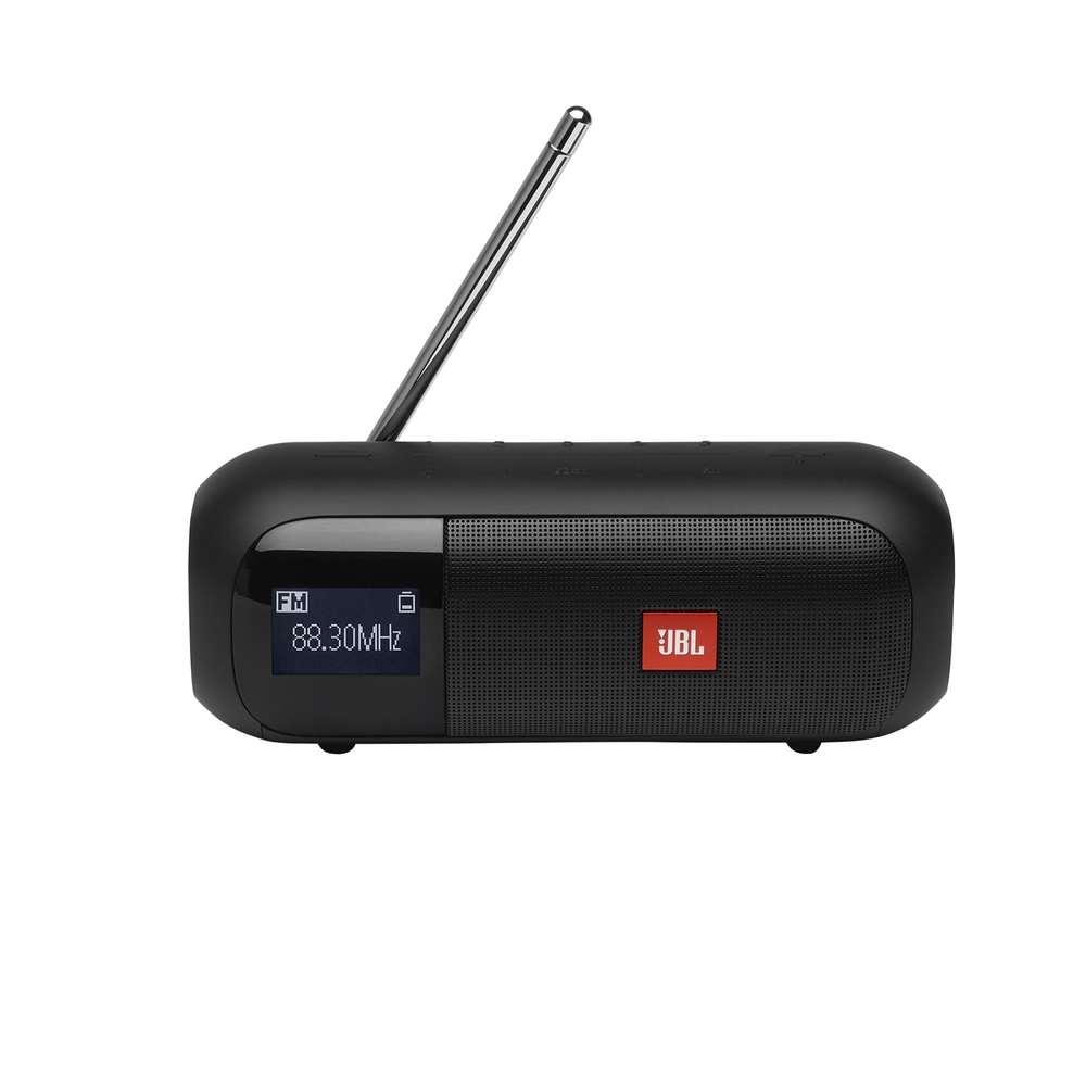 Caixa de Som JBL Tuner FM 2 Preta com Rádio FM Bluetooth À Prova D'água IPX7 Tuner2 JBLTUNER2FMBLK