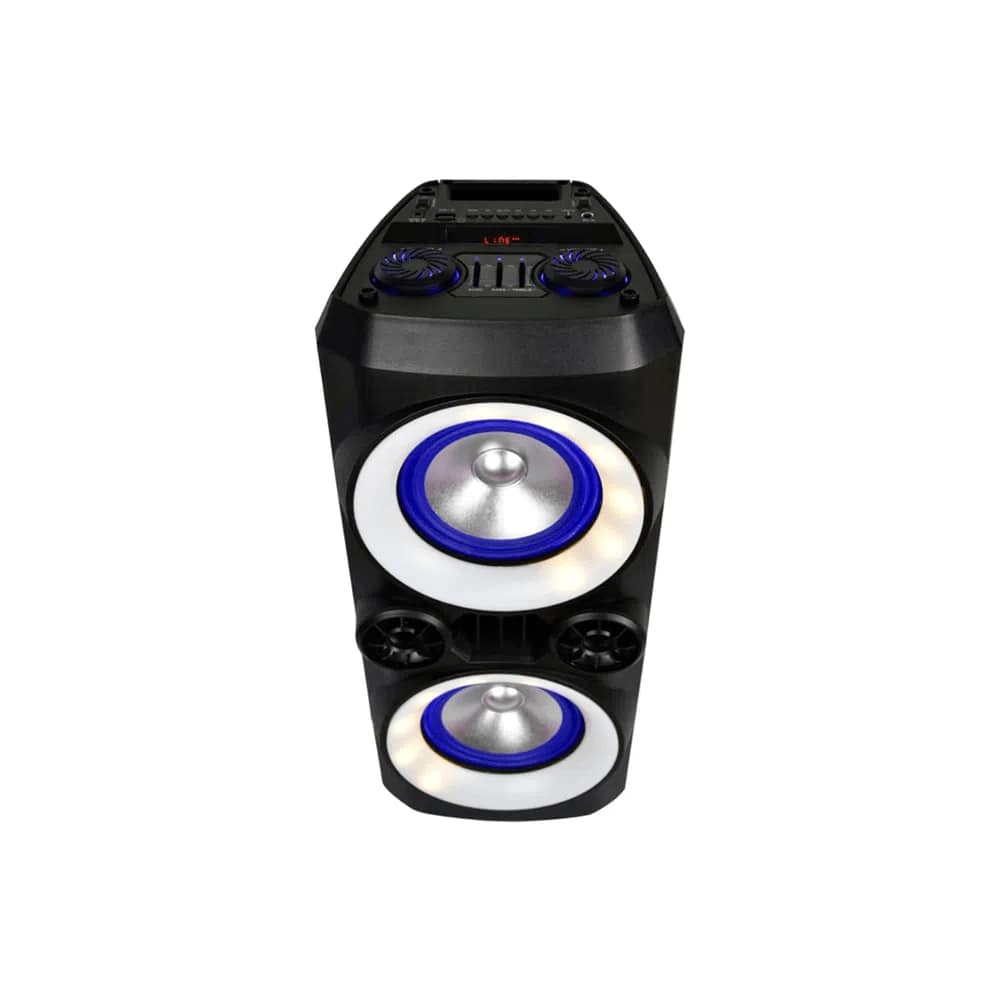 Caixa de Som Multilaser Neon X SP379 Bluetooth Entrada USB Micro SD AUX Rádio FM MP3 Troca de Pasta