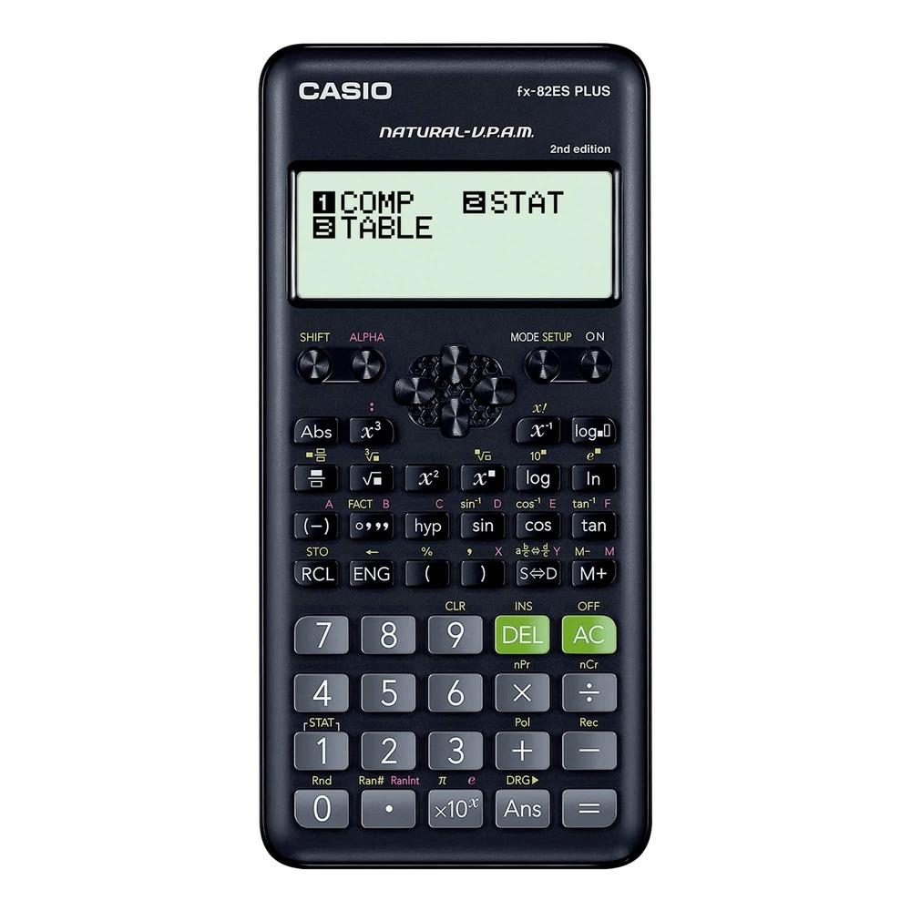 Calculadora Científica Casio FX-82ES Plus 2nd Edition Natural V.P.A.M. 252 Funções FX82ES FX82ESPLUS