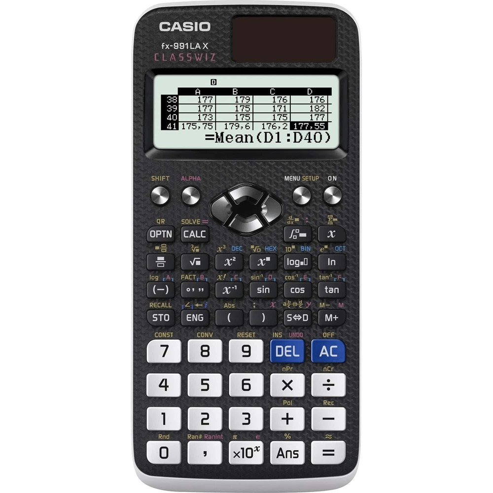 Calculadora Científica Casio FX-991LAX Classwiz 553 Funções Tabela Planilha QR Code FX991 FX991LAX