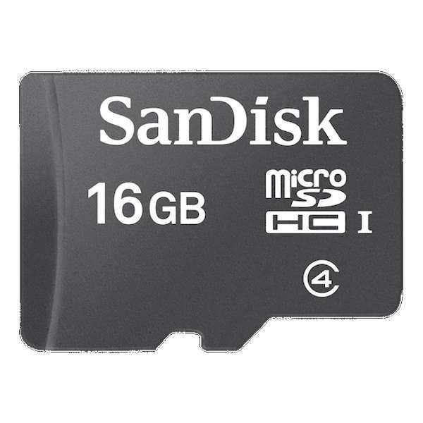 Cartão de Memória SanDisk Micro SD 16 GB + Adaptador