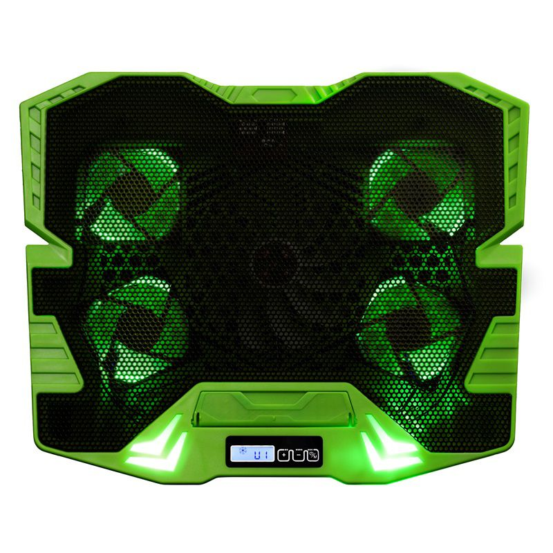 Cooler Gamer Master Verde com Led Warrior - AC292