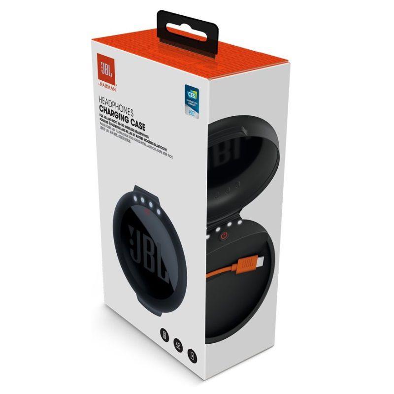 Estojo com Carregador Portátil JBL Charging Case para Fone de Ouvido Bluetooth