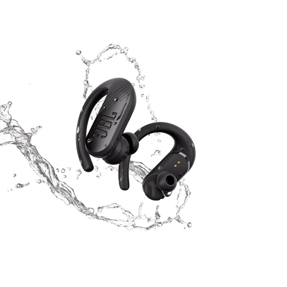 Fone de Ouvido Bluetooth JBL Endurance Peak II 2 Preto Esportivo À Prova D'água JBLENDURPEAKIIBLK