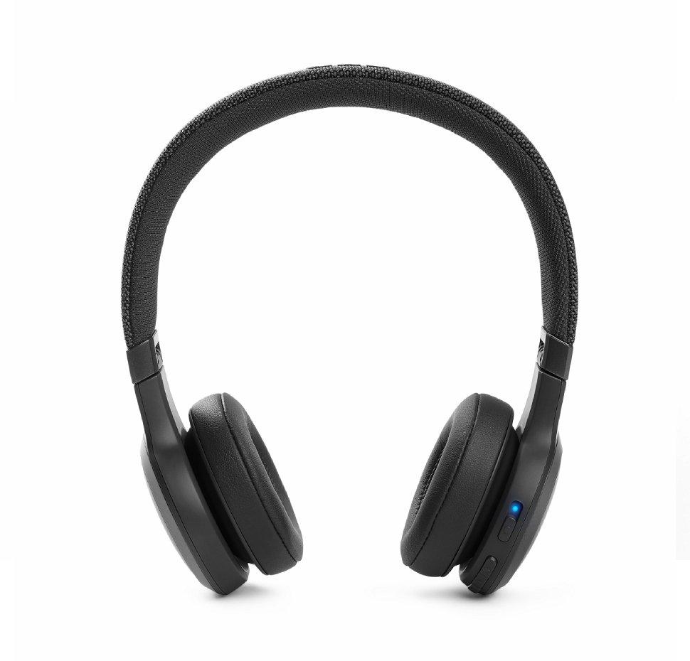 Fone de Ouvido Bluetooth JBL LIVE 460NC Preto com Cancelamento de Ruído Controle por Voz Bateria 50h